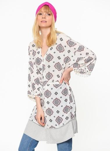 Only Kimono Beyaz